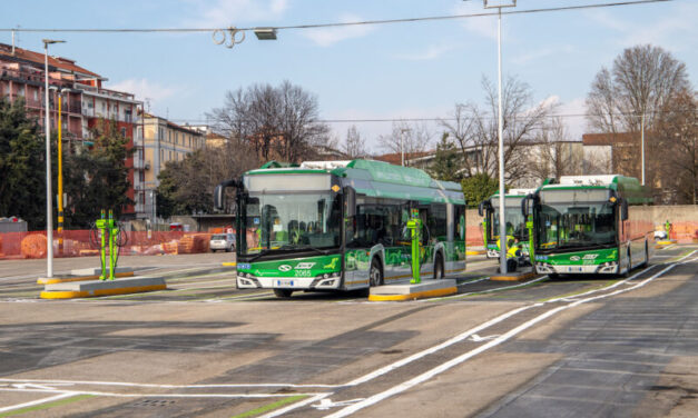 Milan to power fleet of 1200 eBuses with clean energy and a green power infrastructure