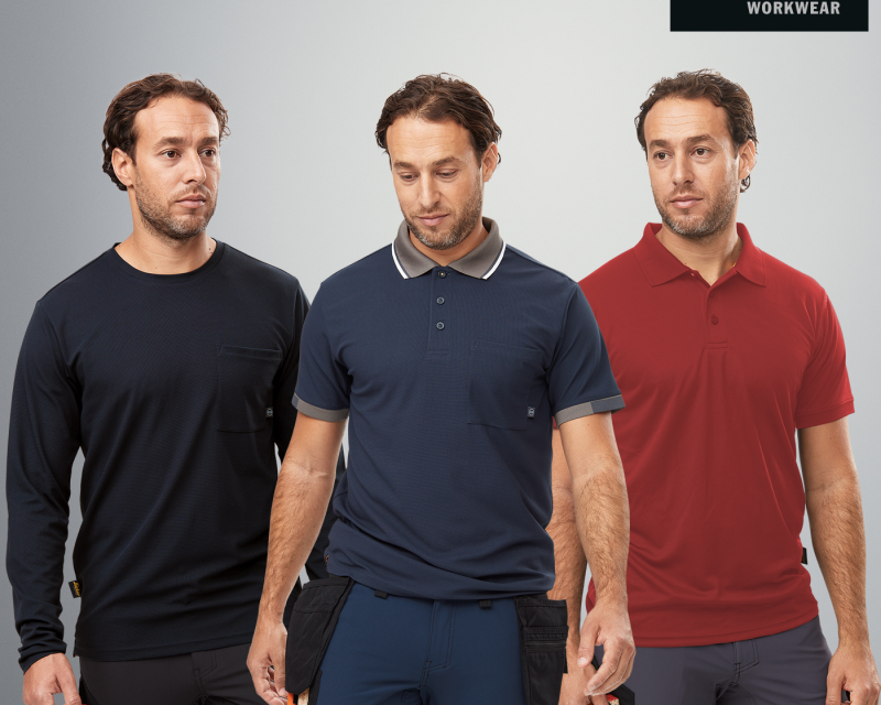 Snickers workwear for summer – Cooling technology and verifiable sustainability