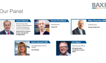 Baxi Heating News: Expert Panel Joined by Government Climate Change Minister moots priorities for Heat Decarbonisation
