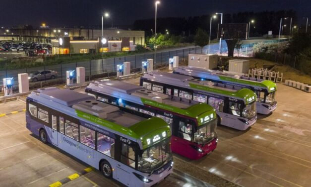 UK's largest bus depot can charge electric buses in just four hours