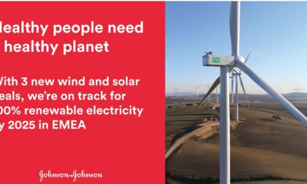 Johnson & Johnson executes new wind and solar power purchase agreements, accelerating progress towards 100% renewable electricity goal