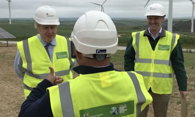 PM kicks off ScottishPower's solar construction at UK's first utility-scale energy park