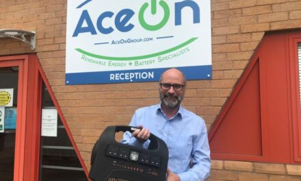 AceOn's mobile solar power station to 'lead the world' in sodium-ion technology