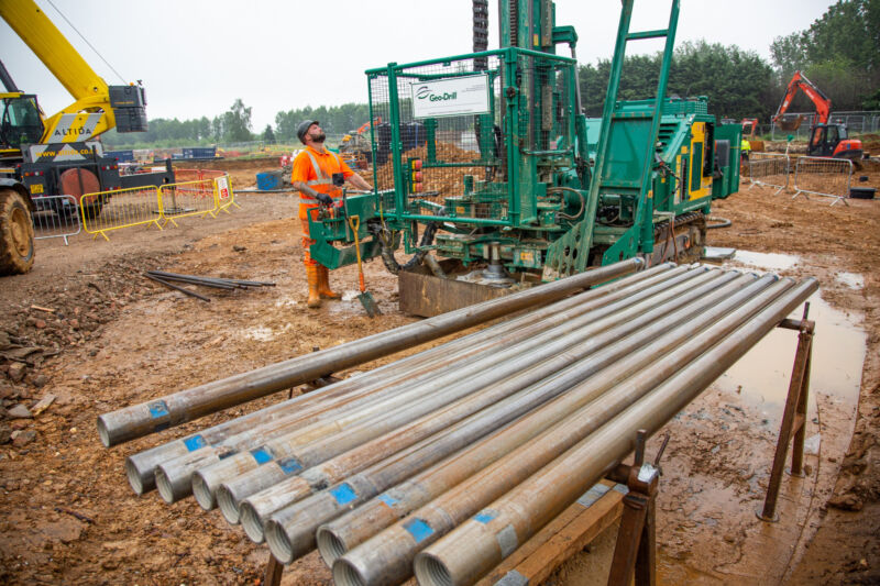 Inspired ground source heating solution being installed in UK's first net-zero carbon retirement community