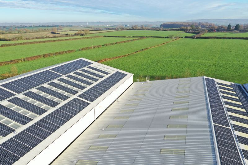 Manufacturer William Hughes forecast to cut annual energy costs by £35,000 and carbon emissions by 100 tonnes with SolarEdge PV System